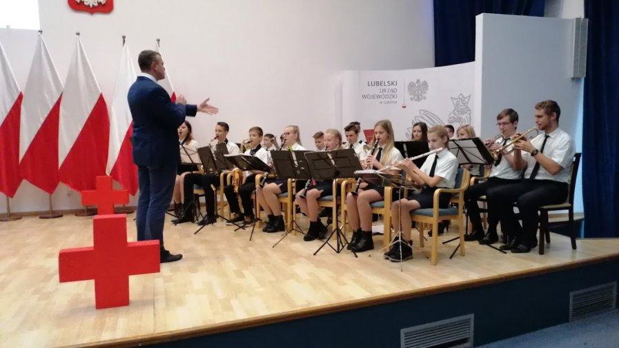 Spotkanie Honorowych Dawców Krwi w Lublinie - występ