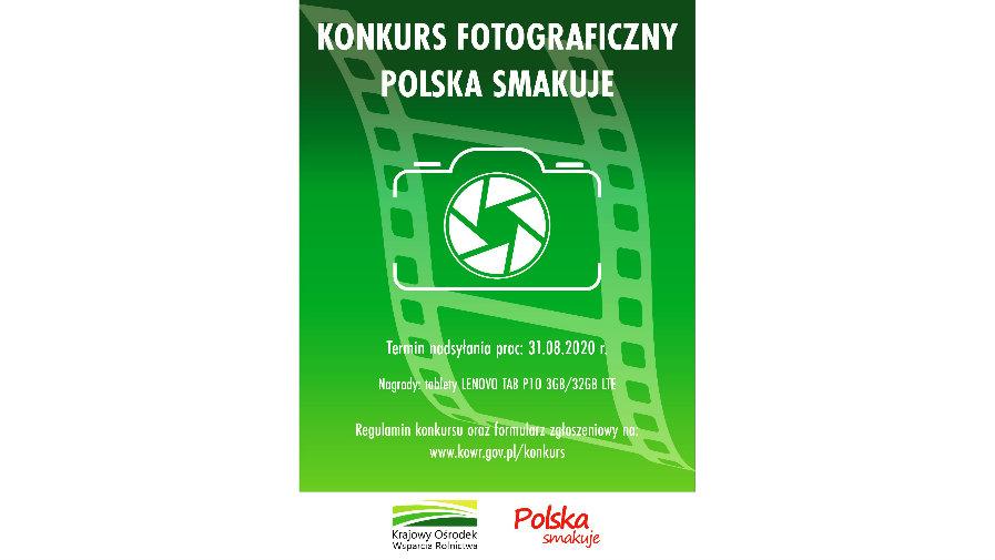plakat konkursu fotograficznego Polska smakuje